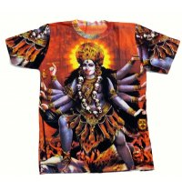 Printed T Shirts Wholesale printed TShirts with Hindu Gods are available in many designs and colours This range of shirts are made in free size and are unisex. Please Click the image for more information.