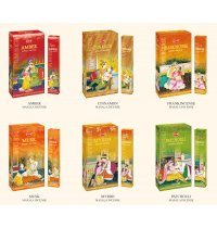 HEM Masala Incense (B/12) HEM masala incense sticks consists of premium resin rolled onto the incense sticks This range of incense sticks last over an hour and the fragrance lingers long after the sticks are extinguished. Please Click the image for more information.