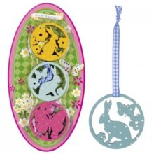 S55238 Wooden Easter Pendants - Set of 6  Brand SpiegelburgSet of 6 beautiful wooden pendants with Vichy ribbon In 3 different Easter motifs Perfect for t. Please Click the image for more information.