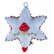 S93572 Music Box Blue Star - Baby Charms Brand SpiegelburgPlush music box with beautiful embroidery and appliqu Melody Somewhere over the rainbowHand washableca 18 . Please Click the image for more information.