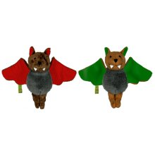 S11692 Magnetic Plush Bat, assorted - Vincelot Brand SpiegelburgThese cute little bats can hang upsidedown or clap their wings together thanks to small hidden magnets at the tips of the wingsMade f. Please Click the image for more information.
