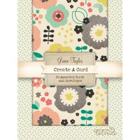 Grace Taylor - Eclectic Emerald Assorted Card Pack The Grace Taylor  Eclectic Emerald Card Pack contains 50 cards and envelopes in an assortment of 10 different designs from whimsical florals to dots and more  The. Please Click the image for more information.