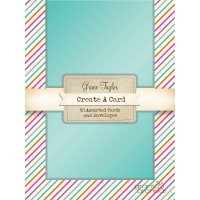 The Grace Taylor - Metallic Card Set The Grace Taylor  Metallic card set contains an assortment of 50 cards and envelopes   The pack features 10 each of metallic blue purple aqua silver and gold cards with matching envelopes    Th. Please Click the image for more information.