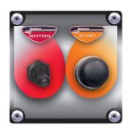 Start / Ignition Panel with WP switch covers High capacity ignition switch with weatherproof cover Starter button with weatherproof cover Lightweight aluminum panel Assembled and wired 40 amp ignition switch  12v DC Soldered  heatshrinked connections  Please Click the image for more information.