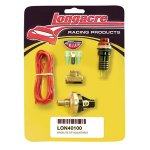 O/P warning light kit - 15-50 psi Oil Pressure 1/8 Complete kit includes sender light wire terminals Please Click the image for more information.