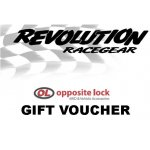 $25.00 Gift Voucher Revolution Racegear Gift VoucherThe perfect gift idea for Birthdays and ChristmasRedeemable at all Revolution Racegear and Opposite Lock stores across AustraliaWHEN ORDERI. Please Click the image for more information.