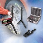 Longacre Digital Camber Caster Guage - Acculevel & Adaptor Supplied with QuickSet adapter and a silver carrying case As an additional benefit the AccuLevel digital readout can be removed and used separately as a digital angle finder for suspension spoiler angles and many other things QuickSet. Please Click the image for more information.