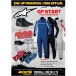 Alpinestars GP Start Package Deal Package includes      GP Start Suit choice of 3 colours      Tech 1 Start Gloves choice of 3 colours      SP Shoes black only      100 Running shoe FOCOffer ends 31st . Please Click the image for more information.