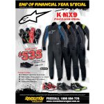 Alipnestars K-MX9 Package Deal Package Includes              KMX9 Kart Suit choice of 4 colours              Tech 1K Race Gloves  choice of 4 colours              Tech 1K shoes choice of 3 colours              100 Running shoes FOCOffer ends 31st Jun. Please Click the image for more information.