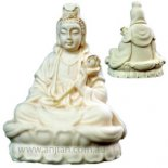 Quan Yin Statue, Ivory 62mm Quan Yin statue Goddess of Mercy and CompassionQuan Yin is a Bodhisattva one who has vowed to stay on earth until all suffering has vanished Als. Please Click the image for more information.