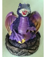 Smoking Incense Cone Burner - Purple Dragon - $15.00 Smoking Incense Cone Burner  Purple Dragon Please Click the image for more information.