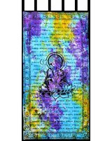 Tie Dye Ganesha Curtains - $50.00 100 Cotton Tie Dye Ganesha CurtainsGanesha is the lord of Wisdom Intelligence education prudence and luck and fortune He is the. Please Click the image for more information.