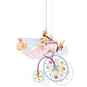 L'oiseau Bateau Petit Mobile - Butterfly Girl Blue The createurs of the LOiseau Bateau range are a small family based in Valence the heart of France Th. Please Click the image for more information.