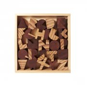 Areaware Alphabet Blocks Toy Alphabet Blocks a set of 26 wooden typographic shapes is the perfect gift for font enthusiasts Build a message topple a letterscape or stack up a spelling word Pre. Please Click the image for more information.
