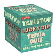 Tabletop Lucky Trivia Quiz A great game of tabletop fun where players take turns to take a lucky dip card from the pack and then answer the trivia question. Please Click the image for more information.