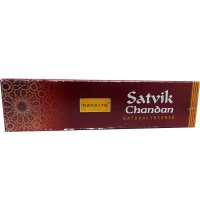 Nandita Satvik Chandan Incense 50gms (B/6) Nandita Satvik Chandan Incense is a natural sandalwood based incense to assist in worship deotion and meditation . Please Click the image for more information.