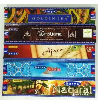 Satya Traditional Series 15gms From the manufacturers of Satya Nag Champa incense these popular traditional incense sticks are made with similar ingredients with with slight changes to give refreshing new aromas to Satya Nag Champa addicts. Please Click the image for more information.