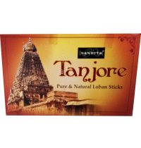 Nandita Tanjore Loban Dhoop (B/12) Nandita Tanjore Dhoops sticks are made from Loban for use in sacred ceremonies This high strength dhoop last for about 30 minutes each. Please Click the image for more information.