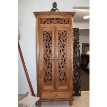 AW 3923 b Antique Javanese Boat Teak Carved Cabinet  Antique Javanese Boat Teak Carved Cabinet Please Click the image for more information.