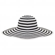 HB SL-002Blk Belina Sun Hat blackwhite Please Click the image for more information.