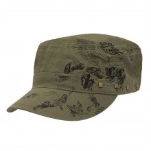 HB SL-039Kha Charlie Motif 1 Cadet Cap Khaki Please Click the image for more information.
