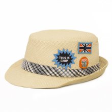 HB SK-005Nat52 Chimp Kids Fedora   Natural 52 cm Please Click the image for more information.