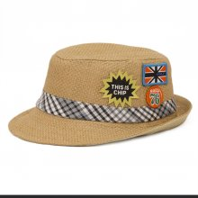 HB SK-005Brn54 Chimp Kids Fedora  Brown 54 cm Please Click the image for more information.