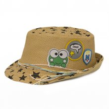 HB SK-006Brn54 OMG Kids Fedora Brown 54 cm Please Click the image for more information.