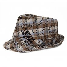 HB SK-010Brn54 Graffiti Kids Fedora Brown 54 cm Please Click the image for more information.