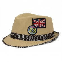 HB SK-011Nat52 USA Kids Fedora Natural 52 cm Please Click the image for more information.
