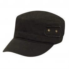 HB SU-010Blk Gidget Cadet Cap  Black  Please Click the image for more information.