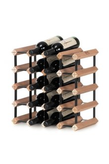 Bordex 20 Bottle Rack This Australian made wine rack is easy to assemble and is produced using natural hardwood timbers and baked enamel steel and is available in a range of sizes to fit any home or cellar space. Please Click the image for more information.