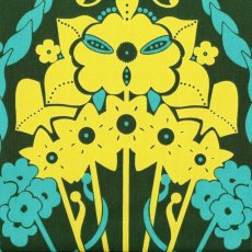 Hand Drawn Garden Nouveau Bouquet Deep Green Nouveau Bouquet from Anna Marias popular fabric collection Hand Drawn Garden is a lovely contemporary largescale design of a bouquet of flowers . Please Click the image for more information.
