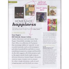 Paper Bliss reviewed in GIFTRAP magazine Lovely review from the GIFTRAP teamthegoodlooking and official mag of the gift and homewares association in australiaAGHA. Please Click the image for more information.