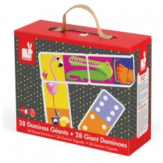 janod giant dominoes Two sided Giant Dominoes from Janod are a must have for the playroom A classic game with numbers on one side and jungle animals on the other see if you can be first to rid yourself of all your tiles L. Please Click the image for more information.