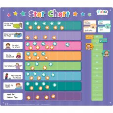 fiesta craft extra large star chart This wonderfully colourful Extra Large Star Chart for 2 children will encourage the kids to get their tasks done and earn their reward. Please Click the image for more information.