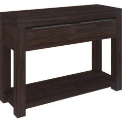 """""""Jackson"""" Timber Charcoal Hall Console Table with 2 Drawers This beautiful Jackson Timber Hall Console Table with 2 Drawers will add the perfect touch to your homeMa. Please Click the image for more information."""