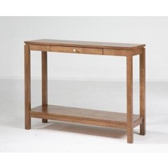 """""""Trend"""" Timber 1 Drawer Hall Table with Shelf 100cm Natural The Trend Range of furniture will add the perfect touch to your home They are the ideal combination of style versatility and great value for money Ava. Please Click the image for more information."""
