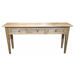 """""""Palm Beach"""" Timber 3 Drawer Hall Table 180cm Oak The Palm Beach Timber 3Drawer Hall Table is the perfect combination of quality beautiful design and great value for money The. Please Click the image for more information."""