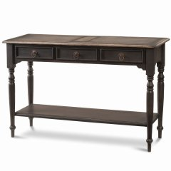 """""""Hamptons House"""" Tucker 3 Drawer Sofa Hall Table with Shelf a classPinkARRIVING IN 8 WEEKS  BACK ORDER NOWaCustomise items with any of our wide range of finishes colors and stainsEach Item you see o. Please Click the image for more information."""