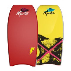"""Manta Phantom 42"""" PE Bodyboard  A Durable PE Core coupled with duel stringers and a powerful board shape The Manta Phantom is the optimum board choice for beginner through to intermediate riders 2. Please Click the image for more information."""