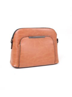 H0696D TAN CROSS BODY HANDBAG Please Click the image for more information.