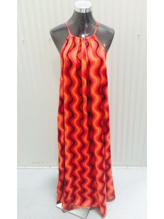 K060 CORALRED MAXI DRESS3PCS PER PACK Please Click the image for more information.