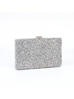 H0713A SILVER EVENING BAG Please Click the image for more information.