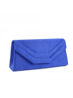 H0718D BLUE SATIN EVENING BAG Please Click the image for more information.