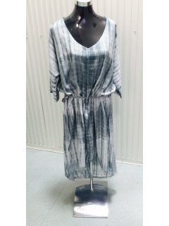 K068A GREY TYE DYE DRESS  FREESIZE TO FIT UP TO SIZE 20  SOLD AS PACK OF 3  Please Click the image for more information.