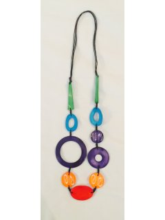 10788 MULTI COLOURED NECKLACE Please Click the image for more information.