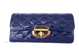 Clutch Bag Quality PU clutch Bag Large opening with a shoulder strap Gold fittings Please Click the image for more information.